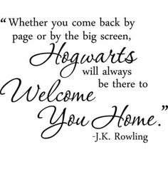hogwarts quote